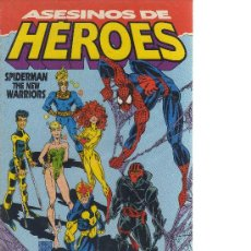 Cómics: ASESINOS DE HÉROES - SPIDERMAN THE NEW WARRIORS (FORUM) - CJ115. Lote 21696660