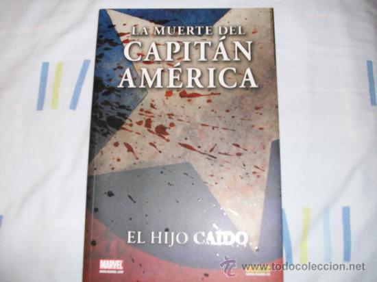 LA MUERTE DEL CAPITAN AMERICA, EL IDOLO CAIDO, TOMO PANINI (Tebeos y Comics - Forum - Capitán América)