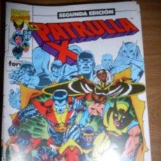 Cómics: FORUM PATRULLA X SEGUNDA EDICION LOTE DEL 1 AL 20 MUY BUEN ESTADO. Lote 26016635