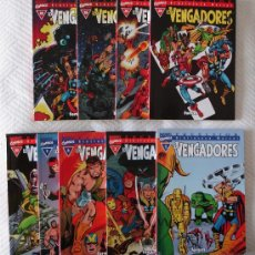 Cómics: LOS VENGADORES - 8 VOLÚMENES DE LA COLECCIÓN EXCELSIOR. ¡¡IMPECABLES!! ¡¡¡INCLUYE NUMS. 1 Y 2!!!. Lote 25679900