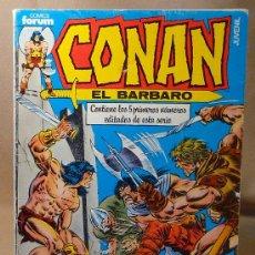 Cómics: COMIC, ALBUM Nº 1, CONAN EL BARBARO, COMICS FORUM, 5 PRIMEROS NUMEROS. Lote 22472643
