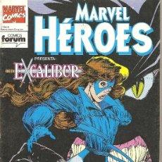 Cómics: MARVEL HEROES Nº 62 EXCALIBUR. Lote 22446287