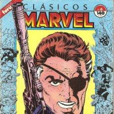 Cómics: CLASICOS MARVEL Nº 6 NICK FURIA. Lote 22446302