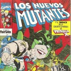 Cómics: LOS NUEVOS MUTANTANTES Nº 60. Lote 22446571