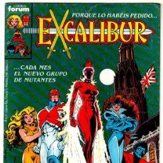 Cómics: EXCALIBUR Nº 1, FORUM 1989. Lote 22489377