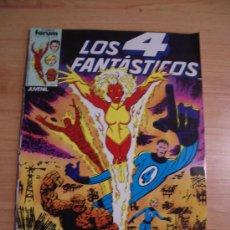 Cómics: LOS 4 FANTASTICOS, Nº 23. PROCEDE DE RETAPADO. LITERACOMIC.. Lote 22640392