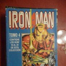 Cómics: IRON MAN. VOL. 4. TOMO DEL 16 AL 20. FORUM. Lote 25864585