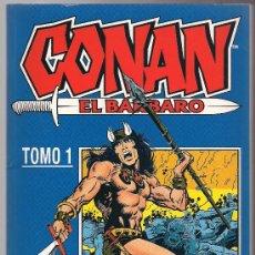 Cómics: CONAN EL BARBARO TOMO 1 . Lote 26876427