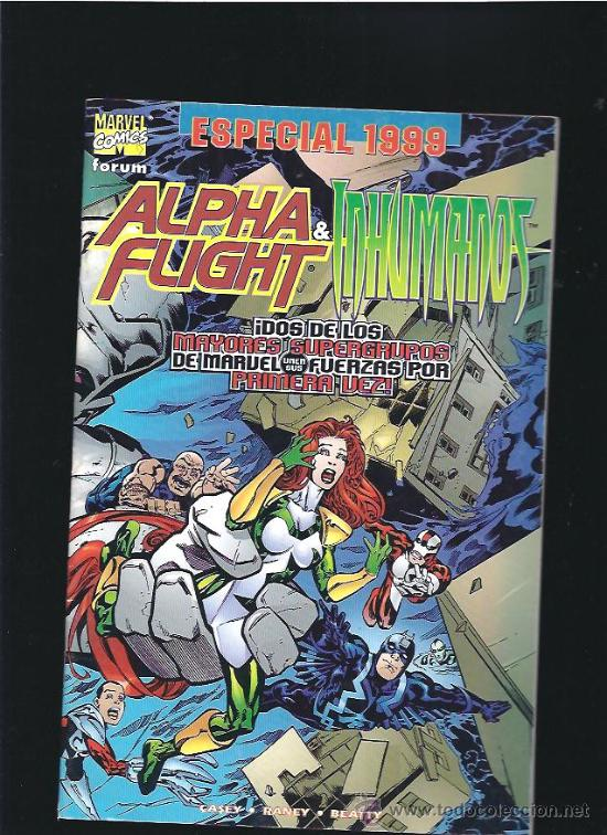 ALPHA FLIGHT & INHUMANOS (Tebeos y Comics - Forum - Otros Forum)