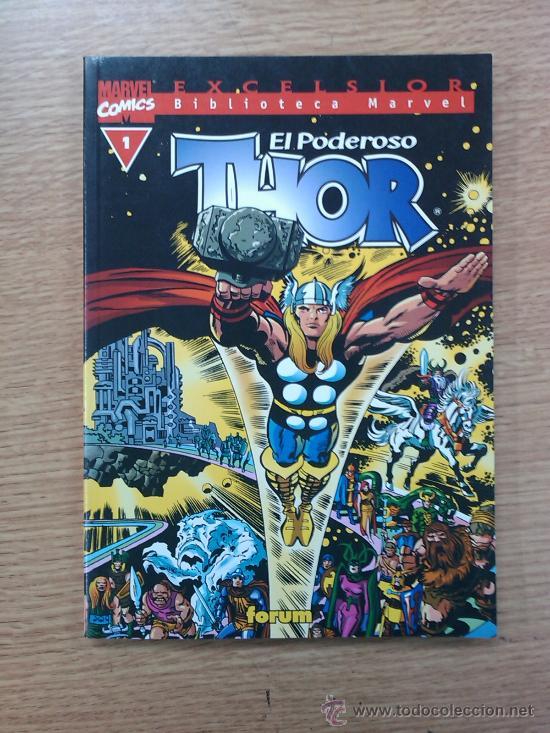 BIBLIOTECA MARVEL THOR #1 (Tebeos y Comics - Forum - Thor)