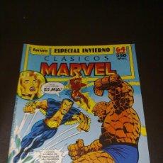 Cómics: CLASICOS MARVEL ESPECIAL INVIERNO 1989 LOS CUATRO (4) FANTASTICOS Y NAMOR. Lote 27118295