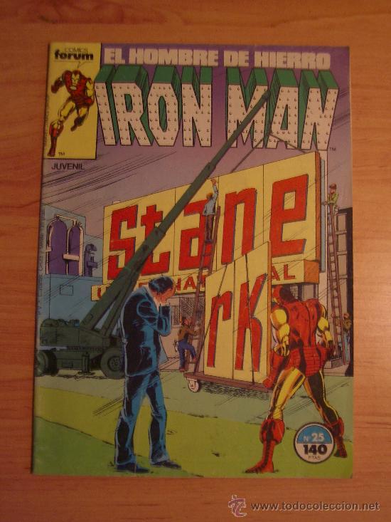 IRON MAN Nº 25. LITERACOMIC. (Tebeos y Comics - Forum - Iron Man)