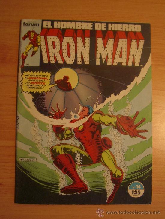 IRON MAN Nº 14. (Tebeos y Comics - Forum - Iron Man)