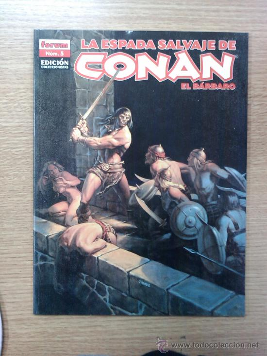 ESPADA SALVAJE DE CONAN EL BARBARO EDICION COLECCIONISTA #5 (Tebeos y Comics - Forum - Conan)