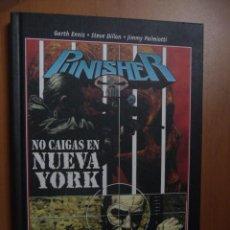 Cómics: PUNISHER. NO CAIGAS EN NUEVA YORK. PANINI. Lote 27158782