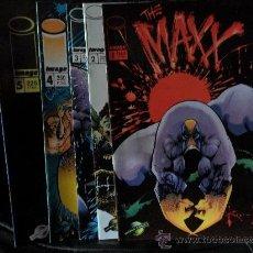 Cómics: LOTE THE MAXX 5 PRIMEROS NUMEROS, IMAGE. SAM KIETH. Lote 26392484