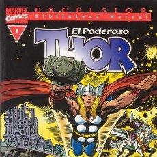 Cómics: EL PODEROSO THOR. TOMO Nº 1. EXCELSIOR BIBLIOTECA MARVEL. FORUM.. Lote 27624089