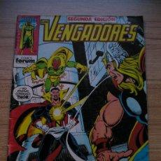 Cómics: LOS VENGADORES (MARVEL ): Nº 2 FORUM: NEFARIA CONTRA THOR, VISIÓN, IRON MAN, CAPITÁN AMÉRICA. Lote 23546294