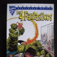 Cómics: BIBLIOTECA MARVEL LOS 4 FANTASTICOS Nº 01 LINEA EXCELSIOR. Lote 94836540