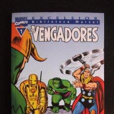 Cómics: BIBLIOTECA MARVEL LOS VENGADORES Nº 1 LINEA EXCELSIOR. Lote 26823577