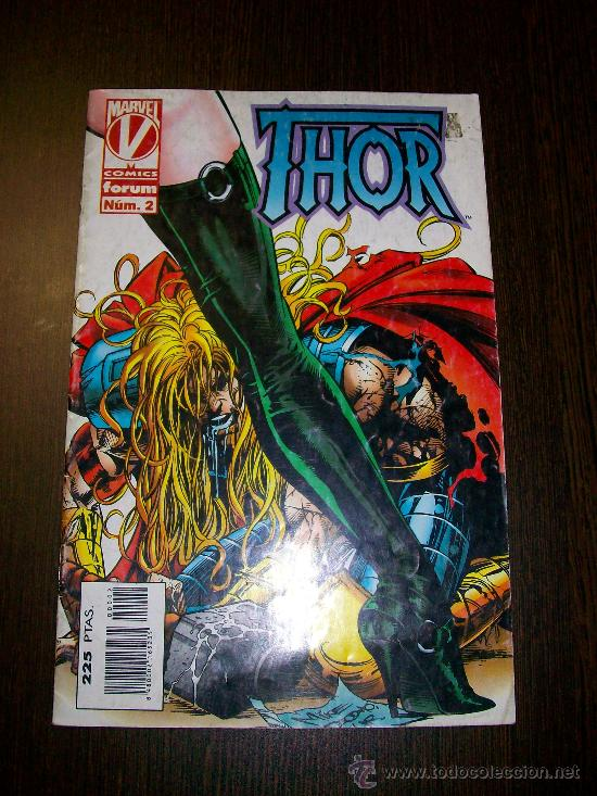 THOR VOL. II (VOLUMEN 2) Nº 2 - MARVEL - FORUM (Tebeos y Comics - Forum - Thor)