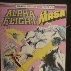 Cómics: ALPHA FLIGHT/LA MASA. TOMIO DEL 39 AL 41 (BIMESTRALES). FORUM. Lote 25914604