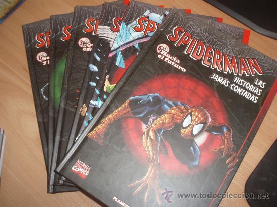 SPIDERMAN - LAS HISTORIAS JAMAS CONTADAS -- Nº 1 A 6 ( COMPLETA ) (Tebeos y Comics - Forum - Prestiges y Tomos)