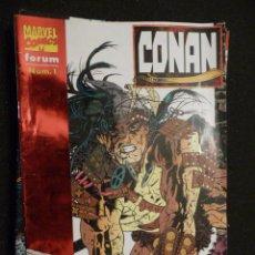 Cómics: CONAN. Nº 1. FORUM. Lote 24120916