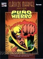 CLASICOS MARVEL BLANCO Y NEGRO Nº 5 Y 6- PUÑO DE HIERRO TOMO 1 Y 2 COMPLETA - CLAREMONT Y JOHN BYRNE (Tebeos y Comics - Forum - Prestiges y Tomos)