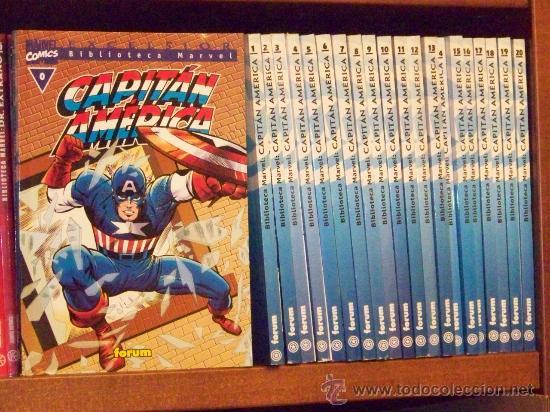BIBLIOTECA MARVEL CAPITAN AMERICA 0-20 (Tebeos y Comics - Forum - Capitán América)