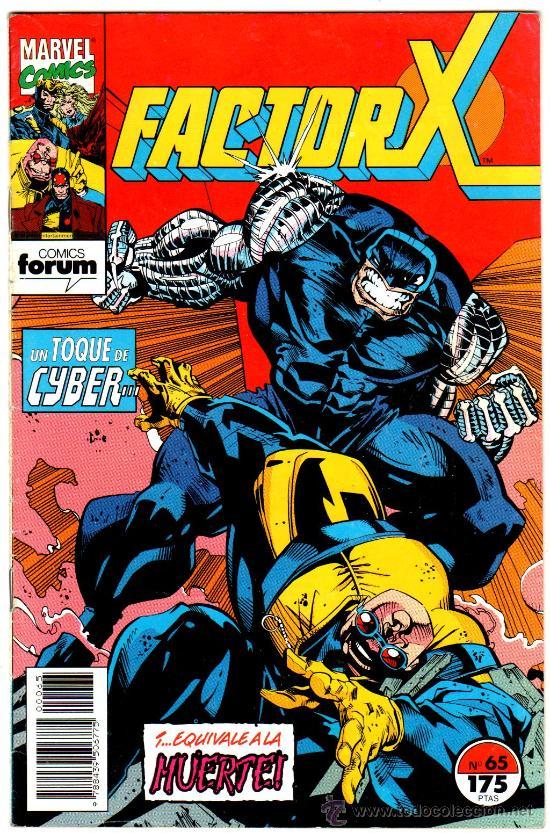 FACTOR X Nº 65, FORUM 1993 (Tebeos y Comics - Forum - Factor X)
