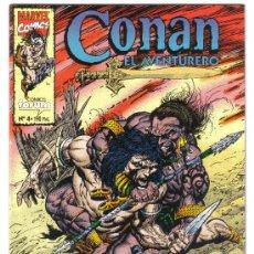 Cómics: CONAN EL AVENTURERO. Nº 4. MARVEL COMICS. FORUM. LITERACOMIC.. Lote 27436616