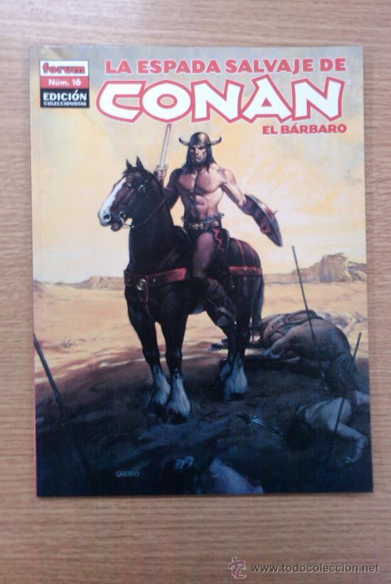 ESPADA SALVAJE DE CONAN EL BARBARO EDICION COLECCIONISTA #16 (Tebeos y Comics - Forum - Conan)