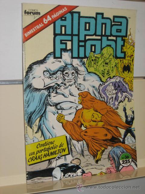 ALPHA FLIGHT VOL. 1 Nº 36 FORUM (Tebeos y Comics - Forum - Alpha Flight)