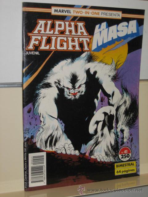 ALPHA FLIGHT VOL. 1 Nº 41 FORUM (Tebeos y Comics - Forum - Alpha Flight)