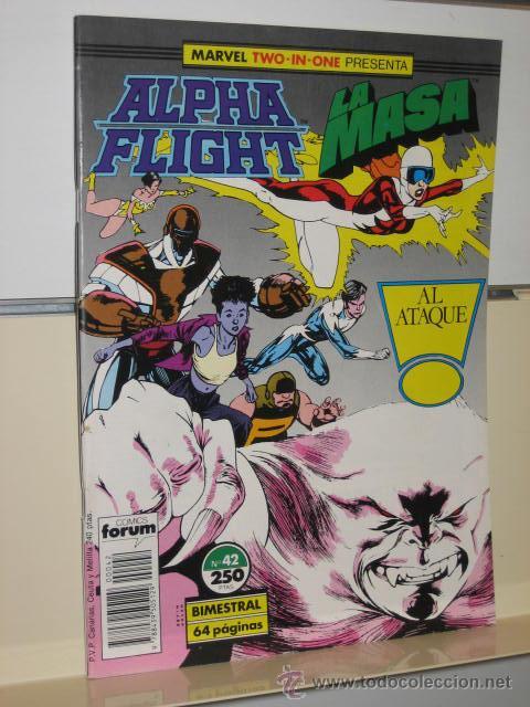 ALPHA FLIGHT VOL. 1 Nº 42 FORUM (Tebeos y Comics - Forum - Alpha Flight)