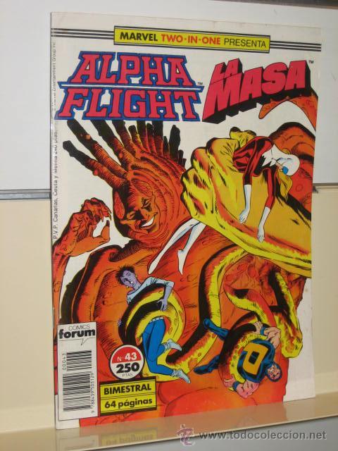 ALPHA FLIGHT VOL. 1 Nº 43 FORUM (Tebeos y Comics - Forum - Alpha Flight)