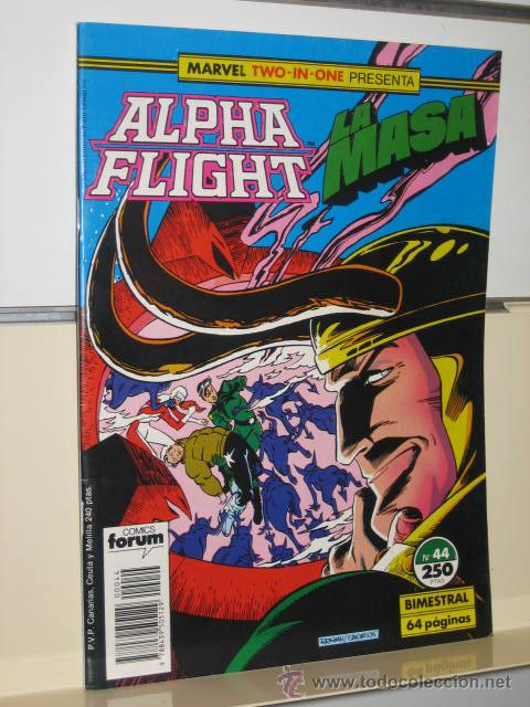 ALPHA FLIGHT VOL. 1 Nº 44 FORUM (Tebeos y Comics - Forum - Alpha Flight)