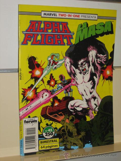 Cómics: ALPHA FLIGHT VOL. 1 Nº 45 FORUM - Foto 1 - 57614150