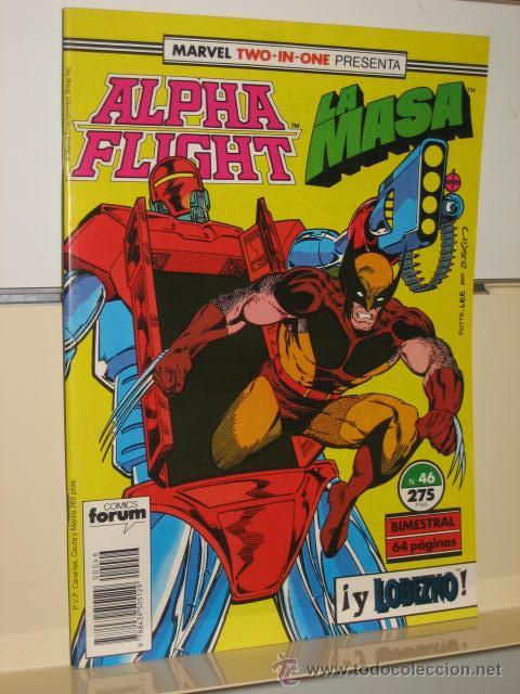 ALPHA FLIGHT VOL. 1 Nº 46 FORUM (Tebeos y Comics - Forum - Alpha Flight)