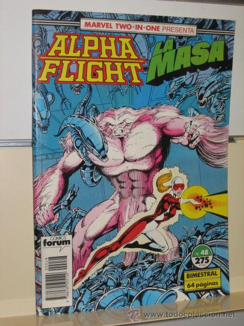 ALPHA FLIGHT VOL. 1 Nº 48 FORUM (Tebeos y Comics - Forum - Alpha Flight)