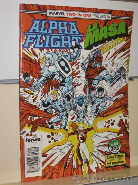 ALPHA FLIGHT VOL. 1 Nº 49 FORUM (Tebeos y Comics - Forum - Alpha Flight)