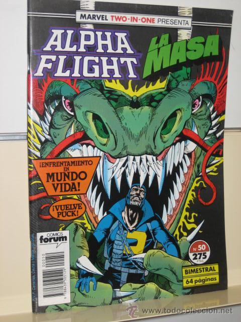 ALPHA FLIGHT VOL. 1 Nº 50 FORUM (Tebeos y Comics - Forum - Alpha Flight)
