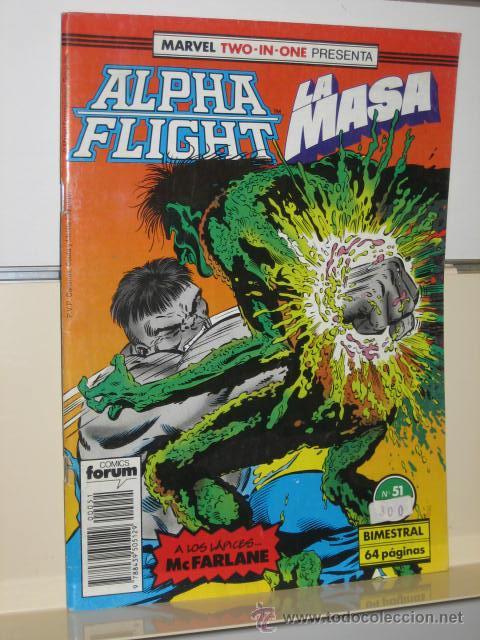 ALPHA FLIGHT VOL. 1 Nº 51 FORUM (Tebeos y Comics - Forum - Alpha Flight)