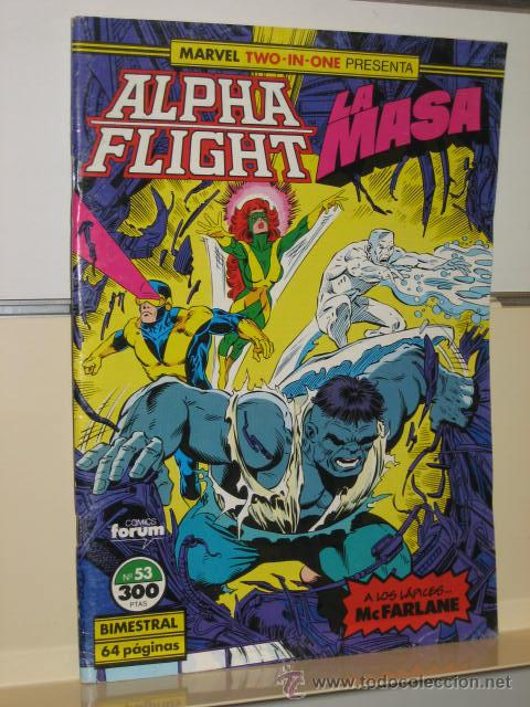 ALPHA FLIGHT VOL. 1 Nº 53 FORUM (Tebeos y Comics - Forum - Alpha Flight)