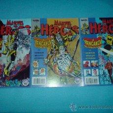 Cómics: MARVEL HEROES N-47 N-48 N-49. Lote 24738654