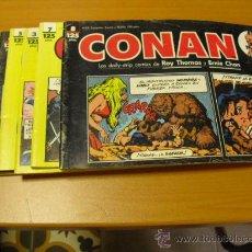 Cómics: 6 TEBEOS DE CONAN 1989. Lote 24752853