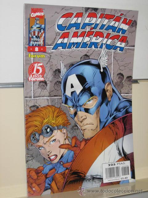 CAPITAN AMERICA HEROES REBORN Nº 8 FORUM OFERTA (Tebeos y Comics - Forum - Capitán América)