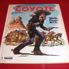 Cómics: EL COYOTE - WELLS FARGO & CO. - ED. FORUM 1983. Lote 26616135