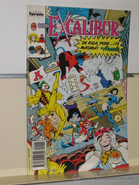 Cómics: EXCALIBUR VOL. 1 Nº 5 FORUM - Foto 1 - 168084816